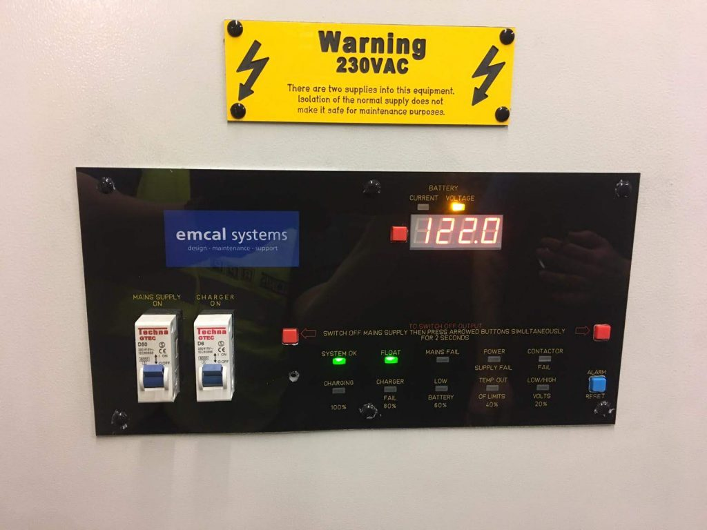 emcal systems bespoke emergency lighting off-grid power system